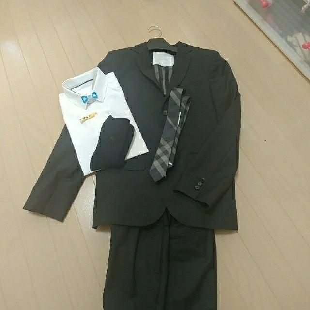 4804f5f2a7600 BURBERRY - バーバリー 男の子用 卒業式 スーツ 5点セット 美品です。の ...
