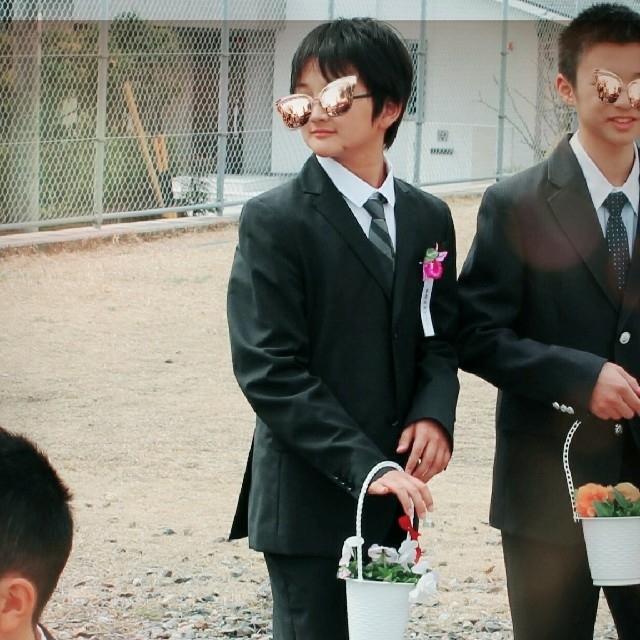 スーツ 男の子 式 卒業