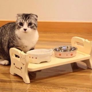 【猫専用】ドギーマン ウッディーダイニング キャット
