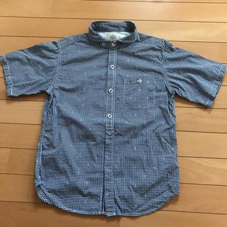 イッカ(ikka)のikka ギンガムチェック 半袖シャツ 150 BOYS(ブラウス)