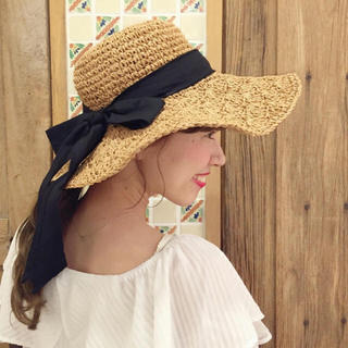 flower - flower ribbon hat