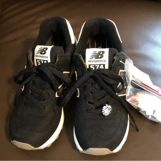 earth music×new balance 新品 スニーカー  BLACK