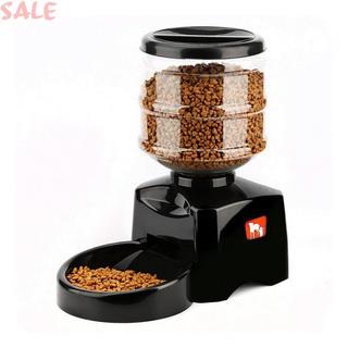OUTAD 自動給餌器 猫 食器 5.5L 録音機能