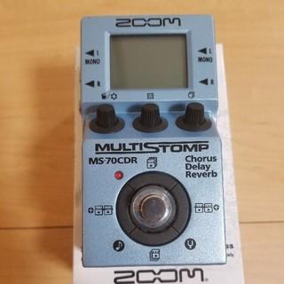 ズーム(Zoom)の美品 zoom ms70cdr 空間系マルチエフェクター(エフェクター)