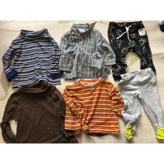 ギャップ(GAP)の長袖シャツ ズボンのセット gap.h&m.カーターズ(シャツ/カットソー)
