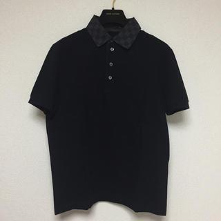 ルイヴィトン(LOUIS VUITTON)のLOUIS VUITTON ルイヴィトン ポロシャツ ダミエ グラフィット(ポロシャツ)