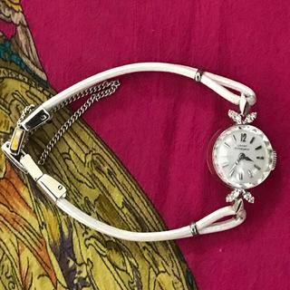 ジラールペルゴ(GIRARD-PERREGAUX)のジラール ペルゴ  手巻き アンティークウォッチ ダイヤ ハミルトン オメガ(腕時計)