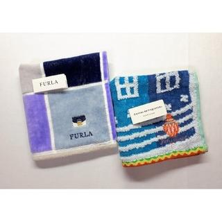 Furla - 【送料無料】未使用■FURLA/フルラ 他■かばん刺繍入り■ハンカチ■2枚セット