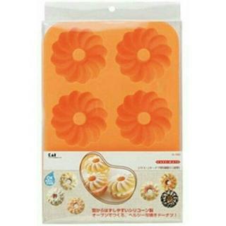 カイジルシ(貝印)の新品 シリコン ドーナツ型(調理道具/製菓道具)