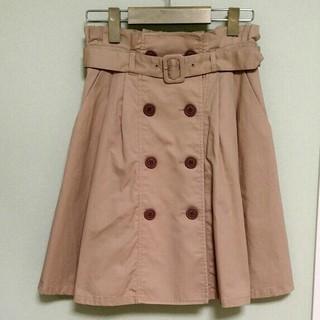 アロー(ARROW)のアロー【秋流行】トレンチスカート(ひざ丈スカート)