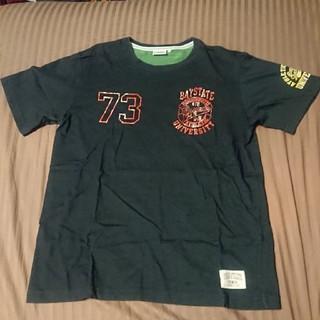 ディスカス(DISCUS)のメンズ半袖プリントTシャツ L(Tシャツ/カットソー(半袖/袖なし))