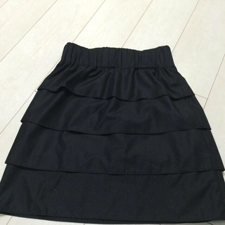 プーラフリーム(pour la frime)の黒ミニスカート(ミニスカート)
