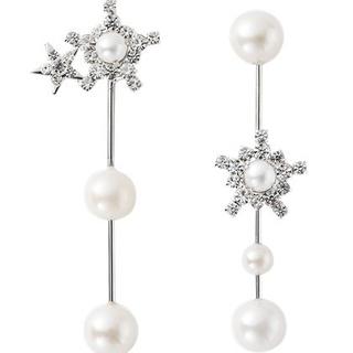 チェスティ(Chesty)のChesty Pearl Star Earring(イヤリング)