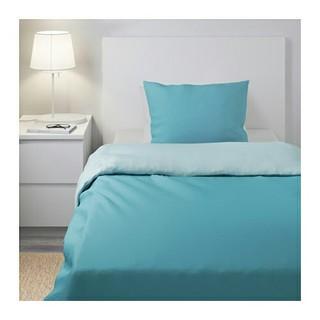 IKEA - IKEA シングル掛け布団カバー&枕カバー,ブルー