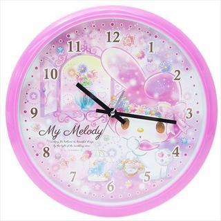 新品 サンリオ マイメロディ ウォールクロック 壁掛け時計