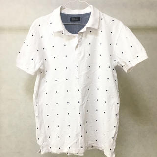 ZARA - ZARA メンズ ポロシャツ L シャツ