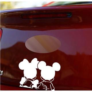 大好評!ミッキーとミニーのカーステッカー!