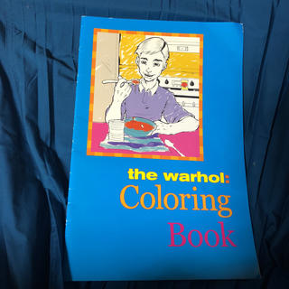アンディウォーホル(Andy Warhol)のアンディーウォーホル 塗り絵(その他)