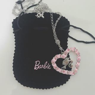 バービー(Barbie)のBarbie ネックレス ハート リボン(ネックレス)