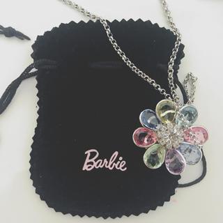 バービー(Barbie)のBarbie ネックレス 花 ビーズ(ネックレス)