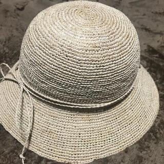 ムジルシリョウヒン(MUJI (無印良品))の無印良品 MUJI ラフィア たためる麦わら帽子 (麦わら帽子/ストローハット)