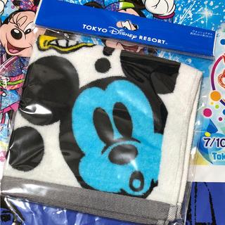 Disney - ディズニー ミッキー 総柄 ウォッシュタオル
