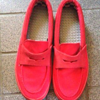 ヴァンズ(VANS)の【矢野さまお取り置き】VANS(ローファー/革靴)