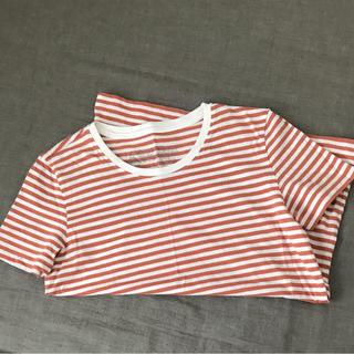 ムジルシリョウヒン(MUJI (無印良品))の無印 ボーダーTシャツ(Tシャツ(半袖/袖なし))