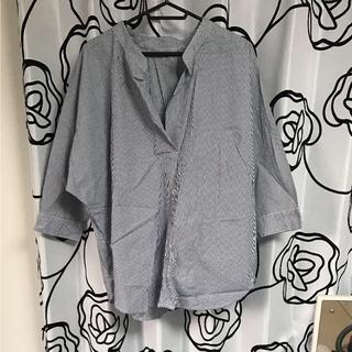 GU - GU オーバーサイズスキッパーシャツ
