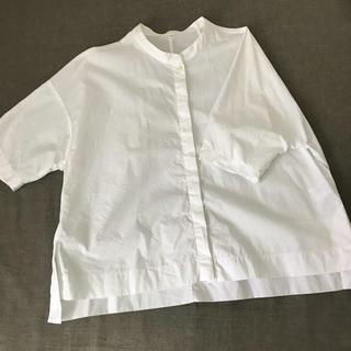 MUJI (無印良品) - 無印 五分袖シャツ