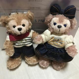Disney - ダッフィとシェリーメイぬいぐるみバッジ