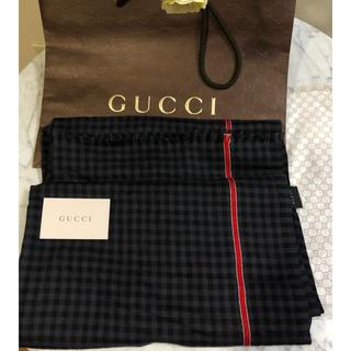 Gucci - GUCCI チェク柄 ストール