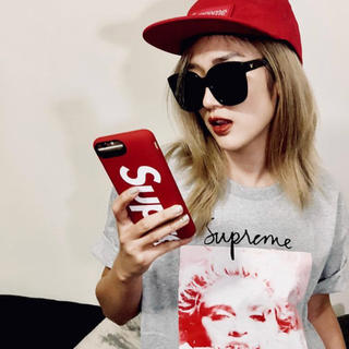 Supreme - supreme 18aw mophie 8 red