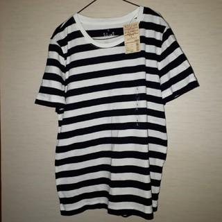ムジルシリョウヒン(MUJI (無印良品))の無印ボーダーTシャツ(Tシャツ(半袖/袖なし))