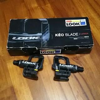 ルック(LOOK)のLOOK KEO BLADE CARBON Ti 12Nmペダル チタンカーボン(パーツ)