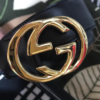 Gucci - GUCCI ベルト 本革 牛革 レディース