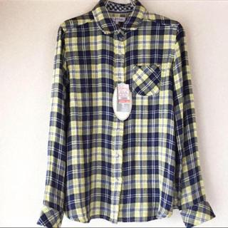 シマムラ(しまむら)の未使用・タグ付き 2wayチェックシャツ(シャツ/ブラウス(長袖/七分))