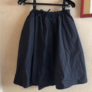 ムジルシリョウヒン(MUJI (無印良品))の無印良品の綿混ダンプイージーワイドギャザースカートM(ひざ丈スカート)