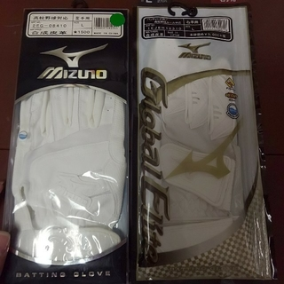 ミズノ(MIZUNO)の新品 両手L ミズノ グローブエリート バッティンググローブ(グローブ)