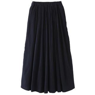ムジルシリョウヒン(MUJI (無印良品))のフレンチリネンイージーマキシスカート(ロングスカート)