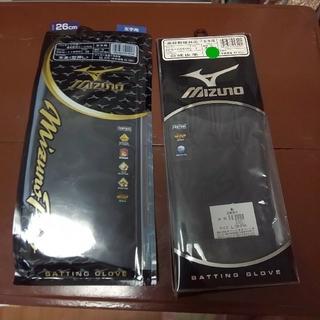 ミズノ(MIZUNO)の新品 両手L ミズノプロ バッティンググローブ(グローブ)