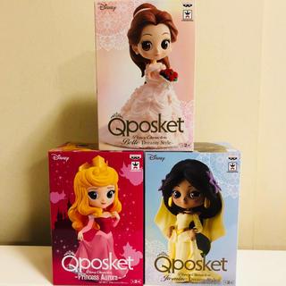 ディズニー(Disney)のQposket ベル ジャスミン オーロラ姫 フィギュア ディズニー (アニメ/ゲーム)