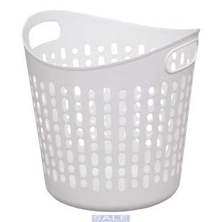 アイリスオーヤマ バスケット ソフト L ピュアホワイト SBK