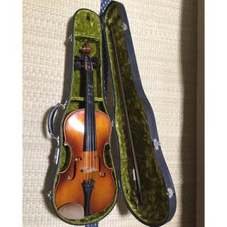 スズキ(スズキ)の国産 木曾鈴木バイオリン製 ヴィオラ ヴィンテージ 入門教本付き(ヴァイオリン)