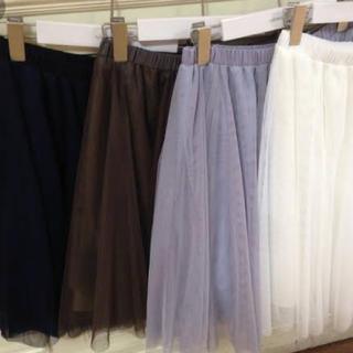 アンレリッシュ(UNRELISH)のチュールスカート(ひざ丈スカート)