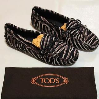 トッズ(TOD'S)のTOD'S トッズ ドライビングシューズ  37 23.5cm 新品未使用(スリッポン/モカシン)
