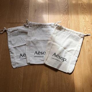 イソップ(Aesop)のイソップ 巾着 バッグ ポーチ(ショップ袋)