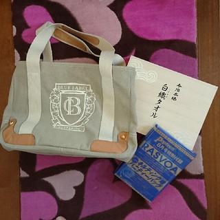 バーバリーブルーレーベル(BURBERRY BLUE LABEL)の☆クレストブリッジ バッグ&今治タオルセット&ポーチセット(トートバッグ)