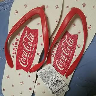 コカコーラ(コカ・コーラ)の未使用 コカコーラ サンダル ビーサン 26-27(ビーチサンダル)