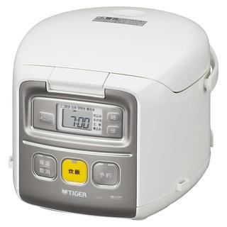 ☆お買い得☆タイガー 炊飯器 3合 ホワイト(その他 )